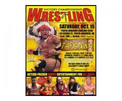 VCW WRESTLING LIVE W/ WWE TATANKA