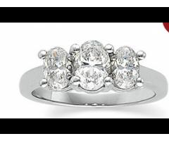 14K White 9/10 CTW Diamond