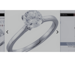 14K 1 CTW Diamond Solitaire Engagement Ring